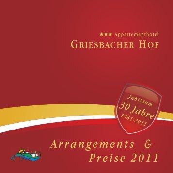 Schnuppertage - Griesbacher Hof
