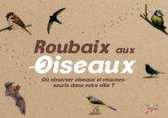 Roubaix aux oiseaux - Développement durable - Ville de Roubaix