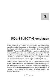 dlagen SQL-SELECT-Grundlagen - MIDRANGE SHOP