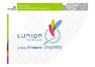 Club Partenaires du 15 mai 2012 - La Fabrique - Ville de Roubaix