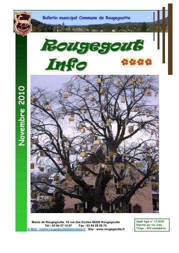 Novembre 2010 - Rougegoutte