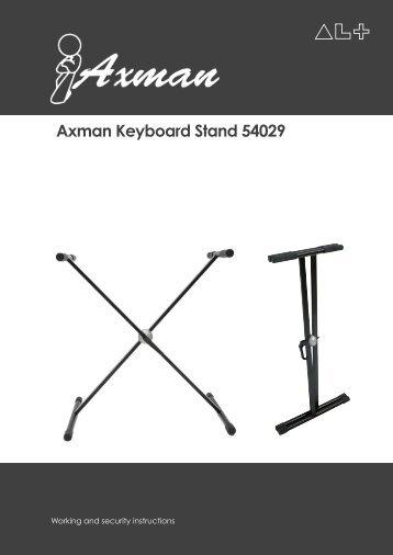 Axman Keyboard Stand 54029
