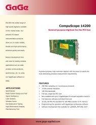 CompuScope 14200 - Egmont Instruments