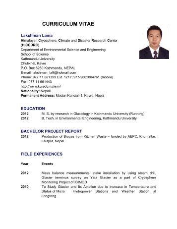 Lakshman Lama - Kathmandu University