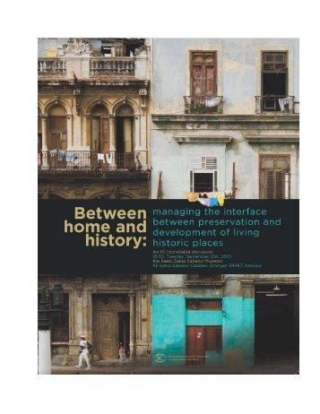 Transkript Između doma i povijesti