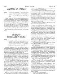 Resolución de 4 de mayo de 2006, de la Secretaría de Estado de ...