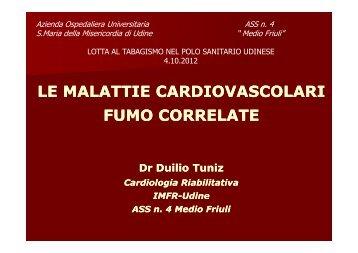PREVENZIONE_TABAGISMO_slide relatori - Medio Friuli