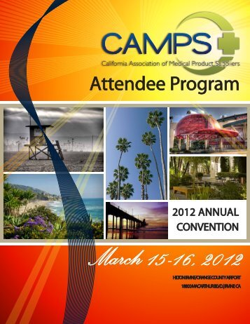 Attendee Program - California Association of Medical Product ...