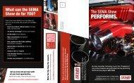 Attendee Benefits Brochure - SEMA Show