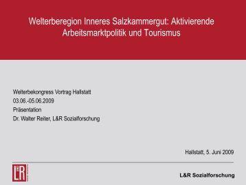 Dr. Walter Reiter - Welterberegion Hallstatt Dachstein Salzkammergut