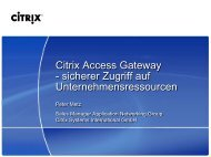 Citrix Access Gateway - Digicomp
