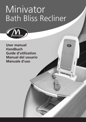 Bath Lift Owners Manual - Access Mobility Center