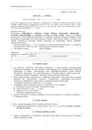 PN – 37/09 Załącznik nr 9 do SIWZ Umowa Nr ……. /G-PSK/ 09 ...