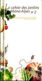 Cahier des jardin n°2 - CAUE69