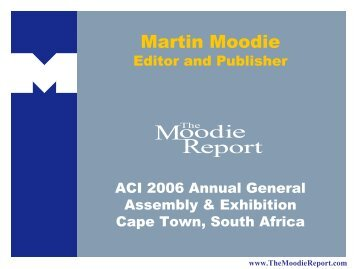 Martin Moodie Publisher The Moodie Report