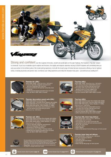 XL1000V Varadero - Doble Motorcycles