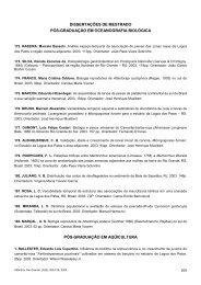 DISSERTAÇÕES DE MESTRADO PÓS-GRADUAÇÃO EM ... - Furg
