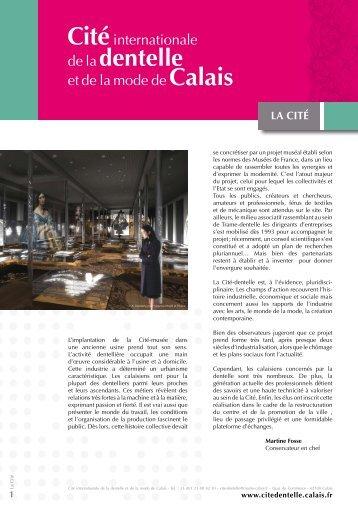 LA CITÉ - Ville de Calais