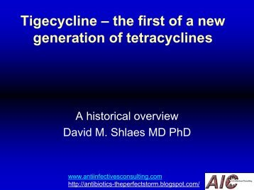 PF-02-MAR-DS-Tigecycline, the beginning of a new era for tetracycline therapy