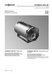 Datos Técnicos Vitomax 100-LW M148430 KB - Viessmann