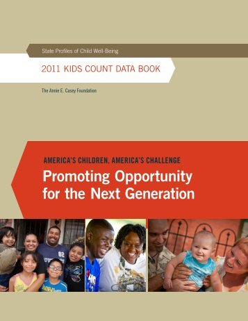 2011 KIDS COUNT DaTa BOOK - Children Now