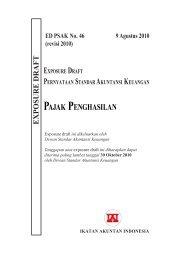 ED PSAK 46 (revisi 2010): Pajak Penghasilan - Blog Staff UI