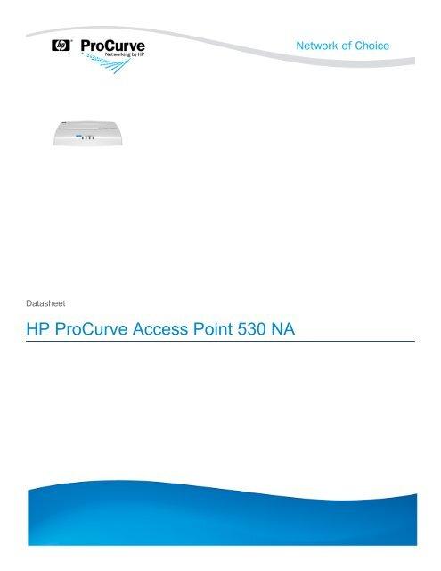 HP ProCurve Access Point 530 NA - Moonblink