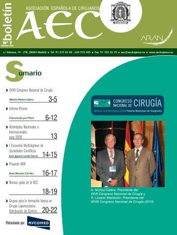 revista 7 - AEC_____Asociación Española de Cirujanos