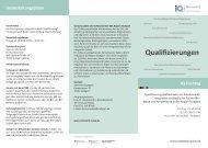 Qualifizierungen - IQ Netzwerk Baden Württemberg