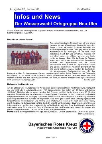 Infos und News 26 - Wasserwacht Ortsgruppe Neu-Ulm