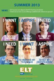 Summer 2013 Catalog - NYSUT