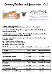 seny - Schwarzwaldgasthof Zum Goldenen Adler