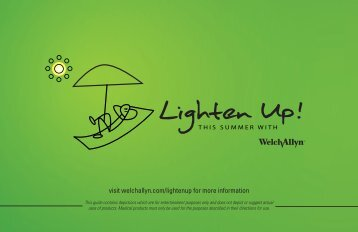 Lighten Up! - Welch Allyn