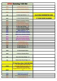 Zeitplan Soltau 2013 AKTUELL