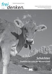 PDF download - Freidenker-Vereinigung der Schweiz