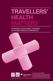 Travellers' Health Matters HIA