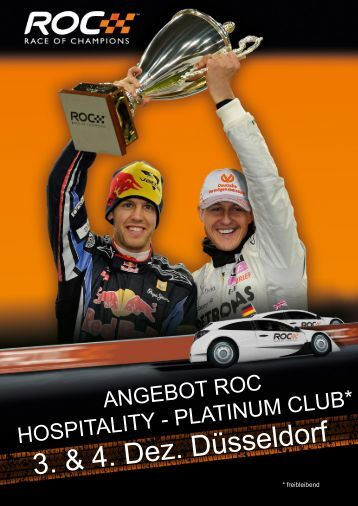 ROC Angebot Platinum Club 2011 - Sports and Business