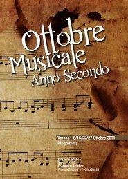 ALLEGATO: Brochure Ottobre Musicale Anno Secondo
