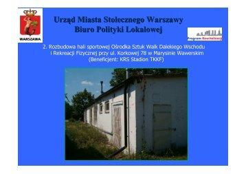 Prezentacja - Warszawa
