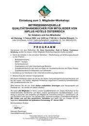 Einladung zum 3. Mitglieder-Workshop: BETRIEBSINDIVIDUELLE ...