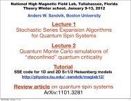 Lecture 1 - Boston University Physics Department.