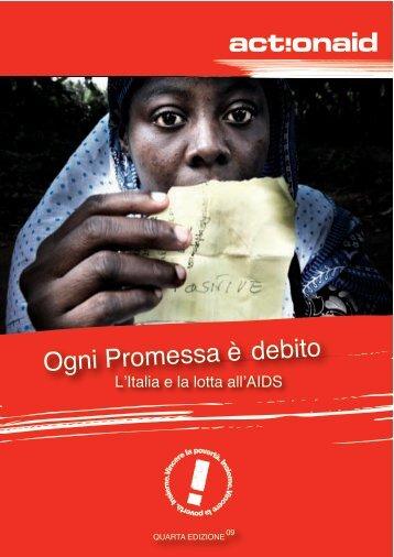 L'Italia e la lotta all'AIDS - 2009 - ActionAid