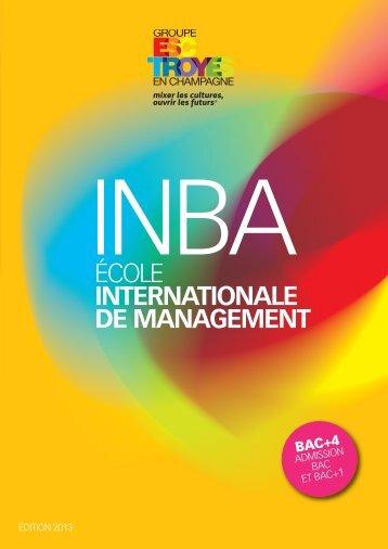 INBA - L'Etudiant