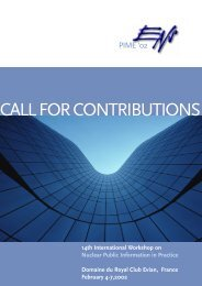 CALL FOR CONTRIBUTIONS - Steiner Graphics
