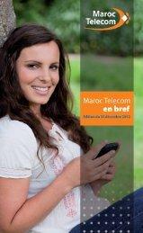 Maroc Telecom en bref version française dec 2012