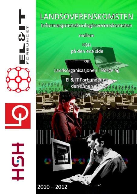 Informasjonsteknologioverenskomsten 2010-2012 - El og it forbundet