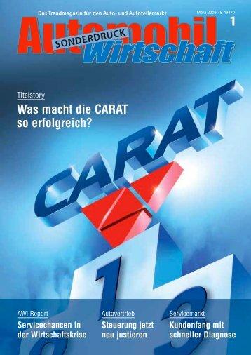 1 Was macht die CARAT so erfolgreich? - CARAT Gruppe