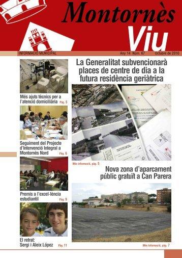 Octubre - Ajuntament de Montornès del Vallès