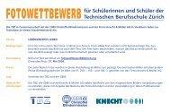für Schülerinnen und Schüler der Technischen Berufsschule Zürich