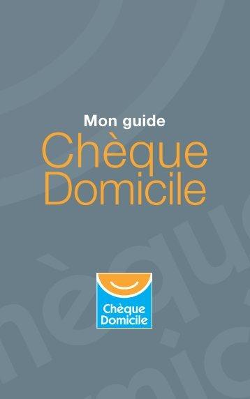 Guide bénéficiaires - Chèque Domicile